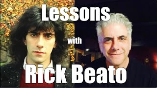 Taking Lessons with Rick Beato : or Why to Take Lessons In Real Life