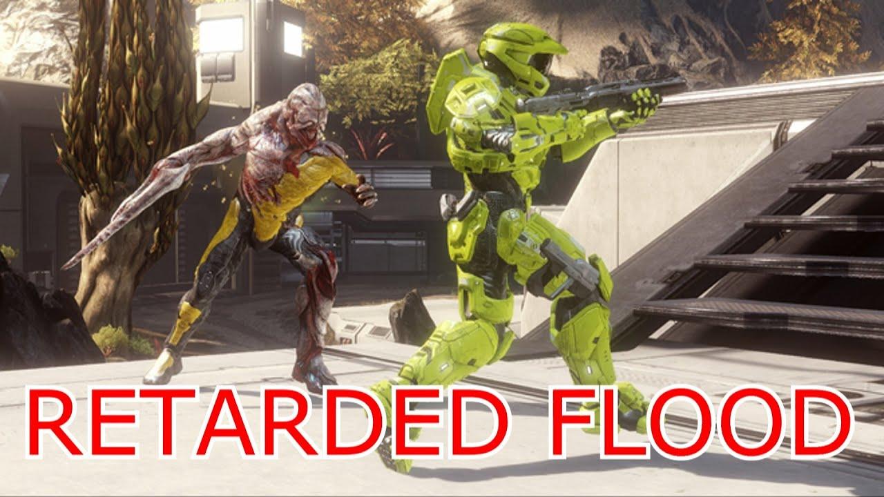 Retarded Flood: Halo 4: Funny Moments: Multiplayer - YouTube