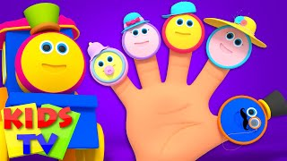 Finger Family Nursery Rhymes | Song For Children | Kids Bob the train Kids Tv thumbnail