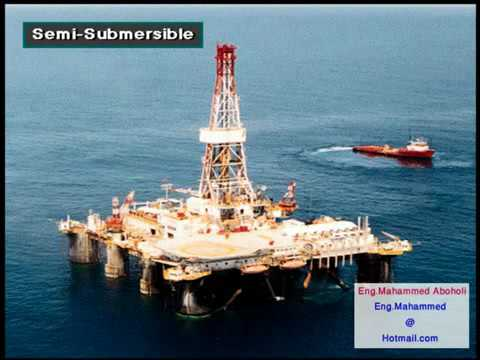 Oil & Gas Submersible Rig