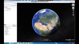 Import GIS file Google Earth...(PHOTOGRAMMETRY)