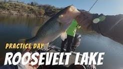 Fishing Roosevelt Lake AZ I Practice Day