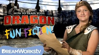 Astrid and the Underground Terrible Terrors l HOW TO TRAIN YOUR DRAGON: FUN FICTION