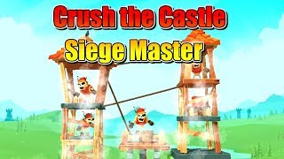 Crush the Castle: Siege Master - Armor Games Inc Walkthrough