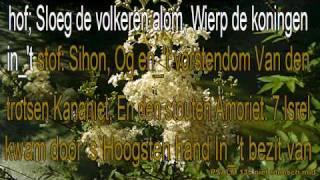 """psalm 135 niet ritmisch Karaoke """" Prijst den Naam van uwen God """""""