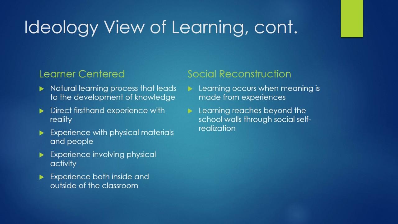 Curriculum Ideologies  YouTube