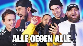 RAP BATTLE!! (in die fresse) CENGIZ vs ABDEL vs DIMA vs FILIPE vs DANERGY🧨[LIVE]