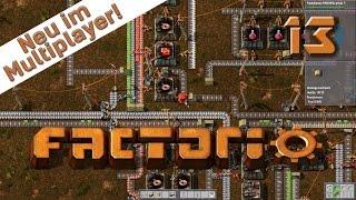 Factorio Multiplayer #13 Das Ölfeld optimieren Der Industrie und Fabrik Simulator deutsch HD