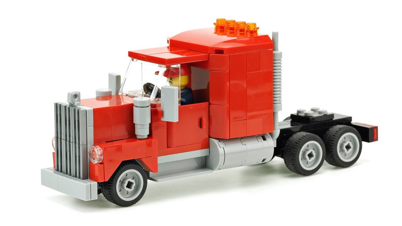 LEGO Semi Truck. MOC Building Instructions - YouTubeLego City Truck Instructions