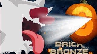 Roblox: Pokemon Brick Bronze - Catching a White Haunter with a Pumpkin Ball!