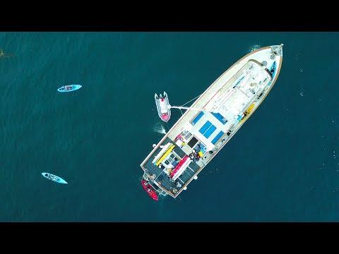 Mothershipping Kayaks 60 Miles off San Diego | #FieldTrips VLOG