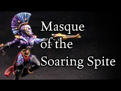 How to paint Masque of the Soaring Spite Harlequins