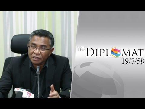 "The Diplomat 19/7/58 : Prime Minister of Timor Leste ""H.E. Rui Maria de Araujo"""