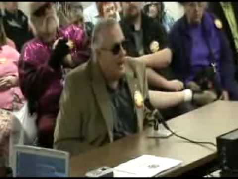 Alan Bredow of Nevada Council of Blind Lions Club on Handicab - TA Meeting