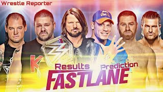 Fastlane 2018 Full Results Predictions || Wrestle Reporter || Hindi