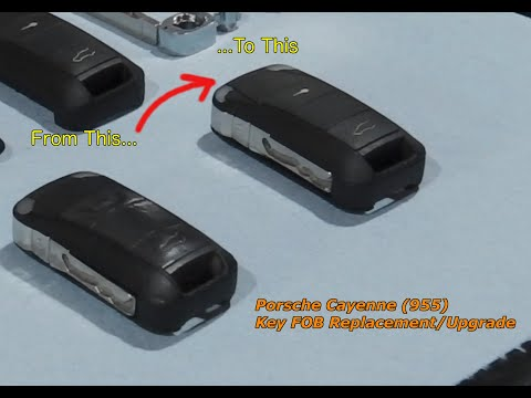2004 Porsche Cayenne(955) Key Fob Shell Upgrade or