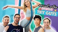 Trying Aerial Silks With The Try Guys