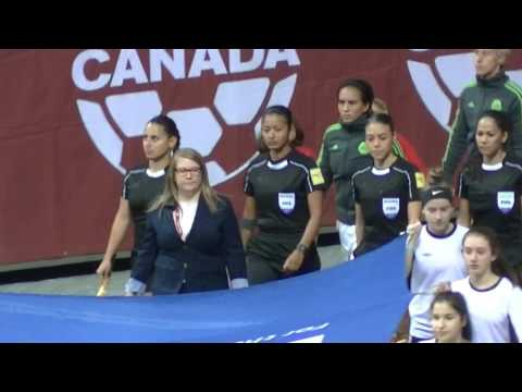 Mexico vs Canada desde Vancouver / Melissa Tancredi says Goodbye