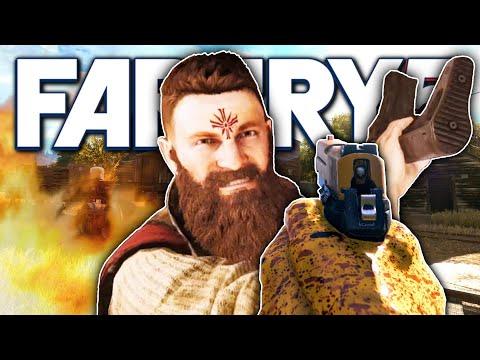 P226 VS CULT OUTPOST! | Far Cry 5 Free Roam thumbnail