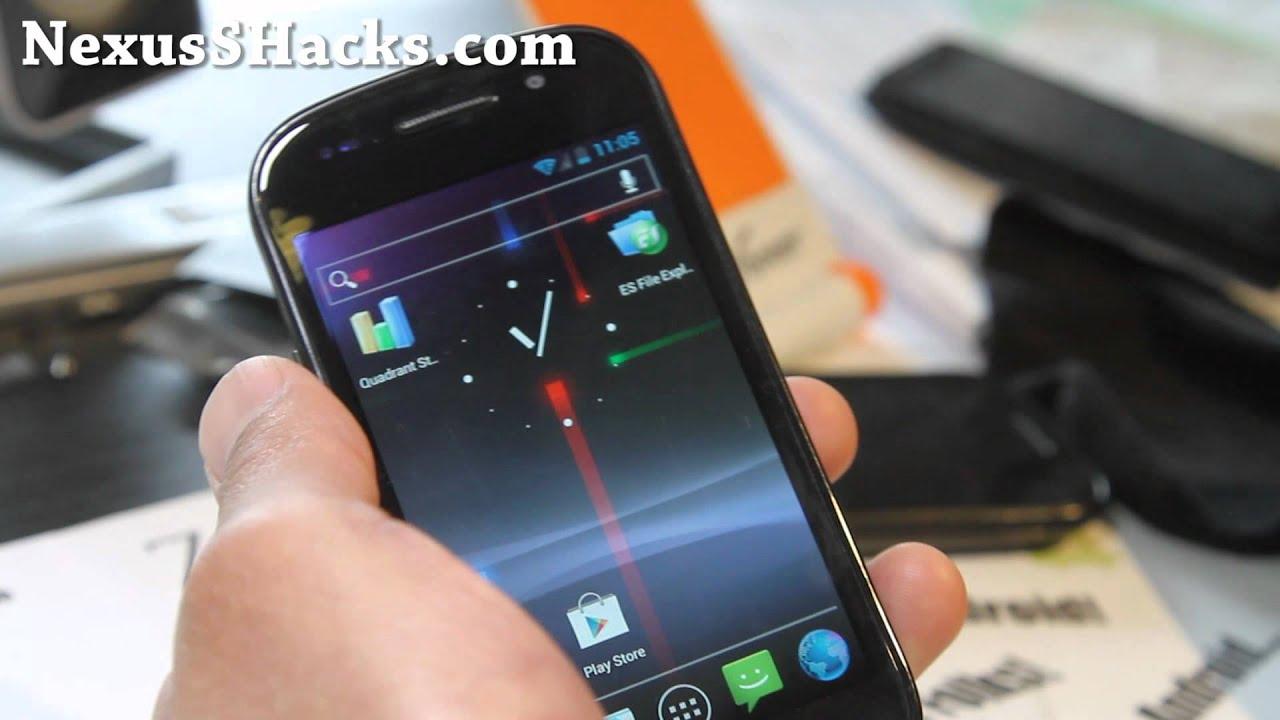 Nexus Beam ICS ROM for Nexus S! [Update][Android 4 0 4]