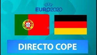 (SOLO AUDIO) Directo del Portugal 2-4 Alemania en Tiempo de Juego COPE