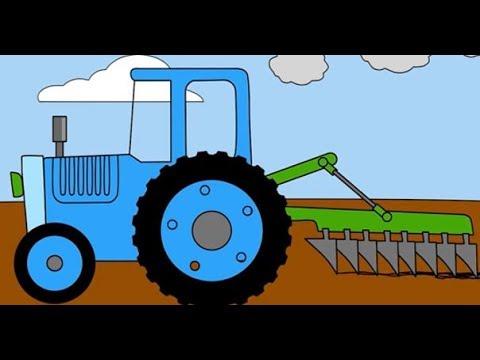 Cartoni Animati Coloriamo Insieme E Impariamo I Colori I Veicoli