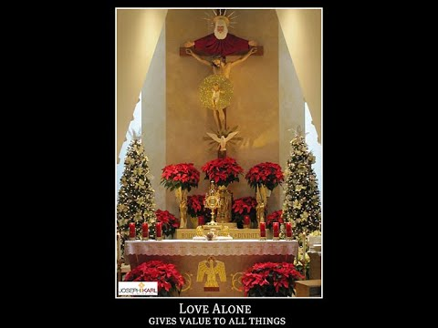 The Last Work of Mercy of Christ's Sacred Heart on Mount Calvary