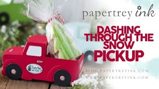 Papertrey Ink Dashing Through the Snow Pickup Assembly