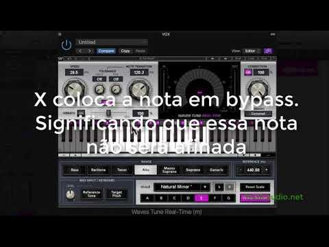 Como usar o plug-in Waves Tune Real Time