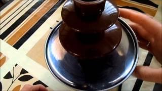 Шоколадный фонтан - фондю , заказ с Алиэкспресс.Chocolate Fountain Fondue .AliExpress.(Всем привет! Извиняюсь за отсутствие маникюра - у меня неделя закаток на зиму))) Ссылочка на фонтан http://www.aliexp..., 2013-10-10T07:58:53.000Z)