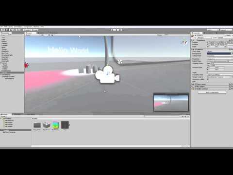Unity3d. Создание игры. Урок 1. Создание персонажа.