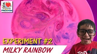 Milky Rainbow Experiment | Science Experiment for Kids - 2 | Prakhar Trikha