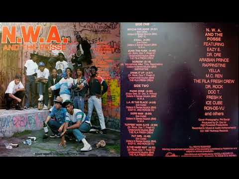 N W A 1987 Full Album  - GANGSTA RAP