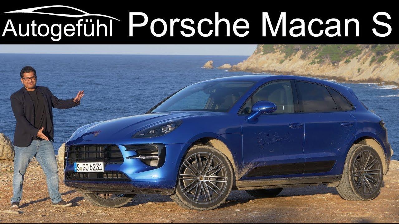 Porsche Macan S Facelift FULL REVIEW 2019 2020 , Autogefühl