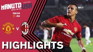 Manchester United 1-1 AC Milan (9-8) | ALL 26 PENALTIES | Highlights | Watch Tour 2018 LIVE on MUTV!