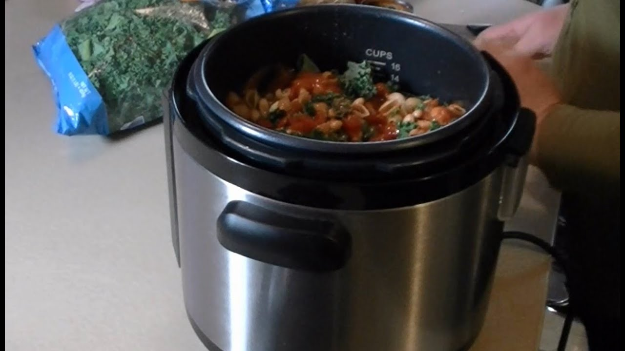 Pressure Cooker Vegetable Soup Quick and Easy Cuisinart