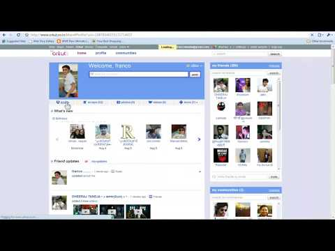 How to add songs in About Me of Orkut(working)