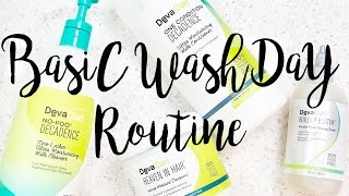 WEEKLY WASH DAY ROUTINE FOR CURLY HAIR | 2017