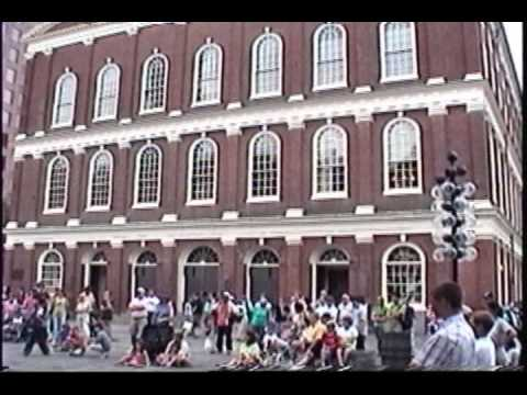Boston sights incl. Faneuil Hall, Quincy Market, Old North Church, Boston Common