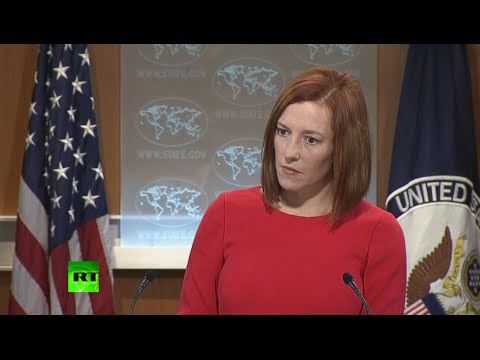 Psaki caught on hot mic calling her own statement ridiculous