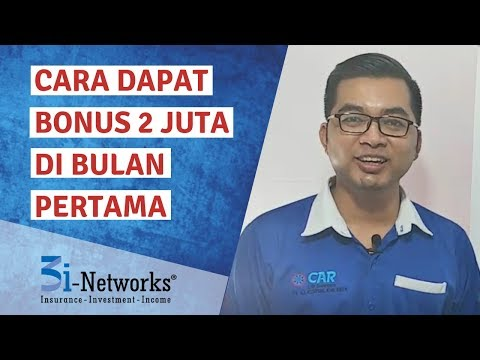 Cara Dapat Bonus 2 Juta Di Bulan Pertama | Tips 3i-Networks