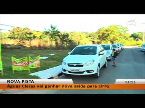 JL - Águas Claras vai ganhar nova saída para EPTG