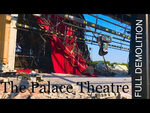 Full Palace Theatre Demolition - Myrtle Beach   Demolition
