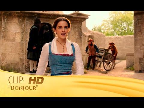La Bella y la Bestia   Clip: 'Bonjour' en español   HD