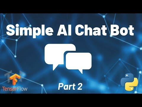 Python Chat Bot Tutorial - Chatbot With Deep Learning (Part 2)