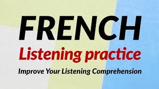 French Listening for Beginners  (recorded by Real Human Voice)