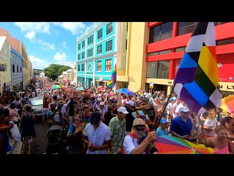 Long Highlights | Bermuda LGBTQ Pride Parade Highlights, August 31 2019