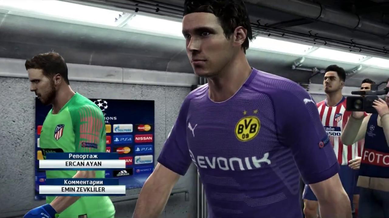 9a8e94e1924 UEFA Champions League 2018 Borussia Dortmund vs. Atletico Madrid PES 2013