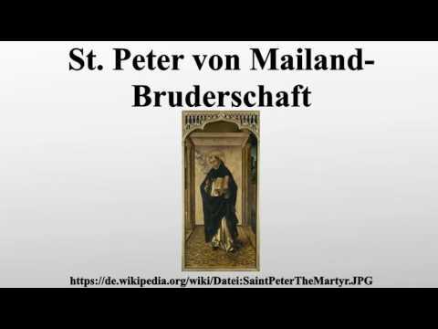 St. Peter von Mailand-Bruderschaft