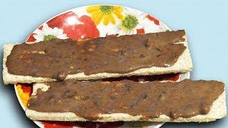 Веганская шоколадная паста с кэробом и орехами - вегетарианский рецепт